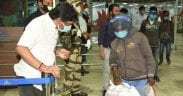 Jharkhand cm waits for migrants returning by flight