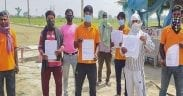 farmer booked flight tickets for migrant workers