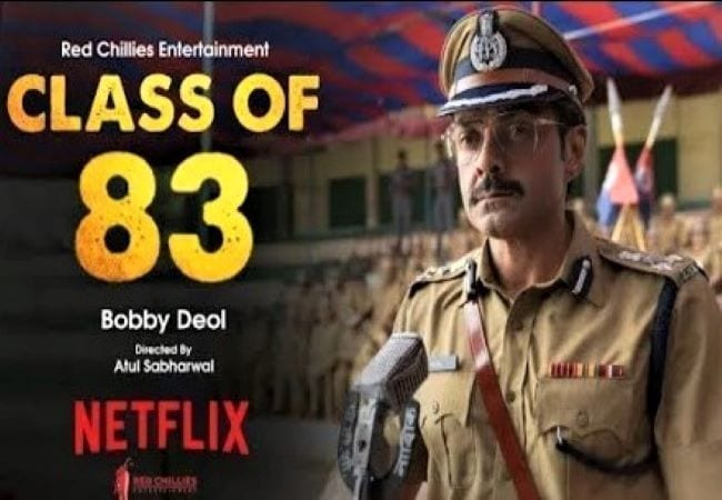 review of film 'class of 83'