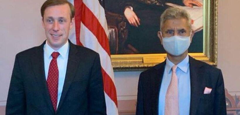 American NSA Sullivan and Jaishankar