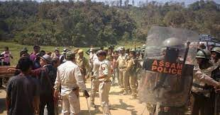 Assam-Mizoram borde