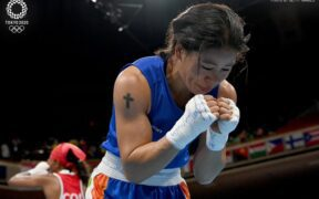 Mary Kom was knocked out of the Tokyo Olympics