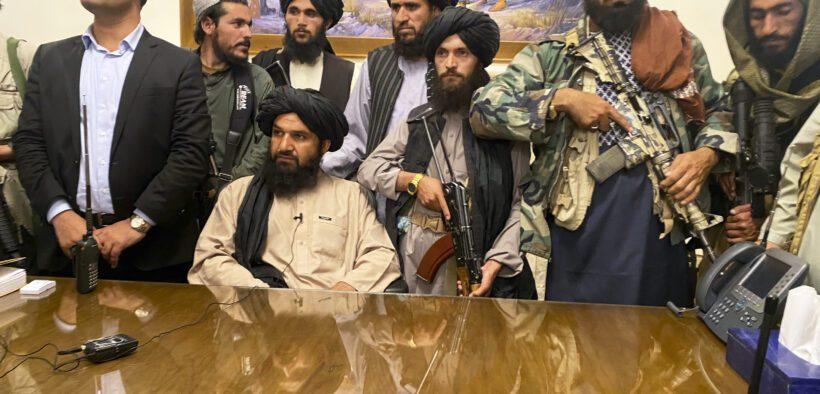 Taliban Kabul Afghanistan Presidential palace