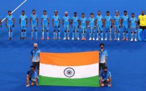 India men hockey winning team